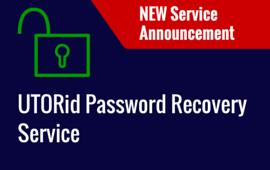 UTORid Password Recovery Service