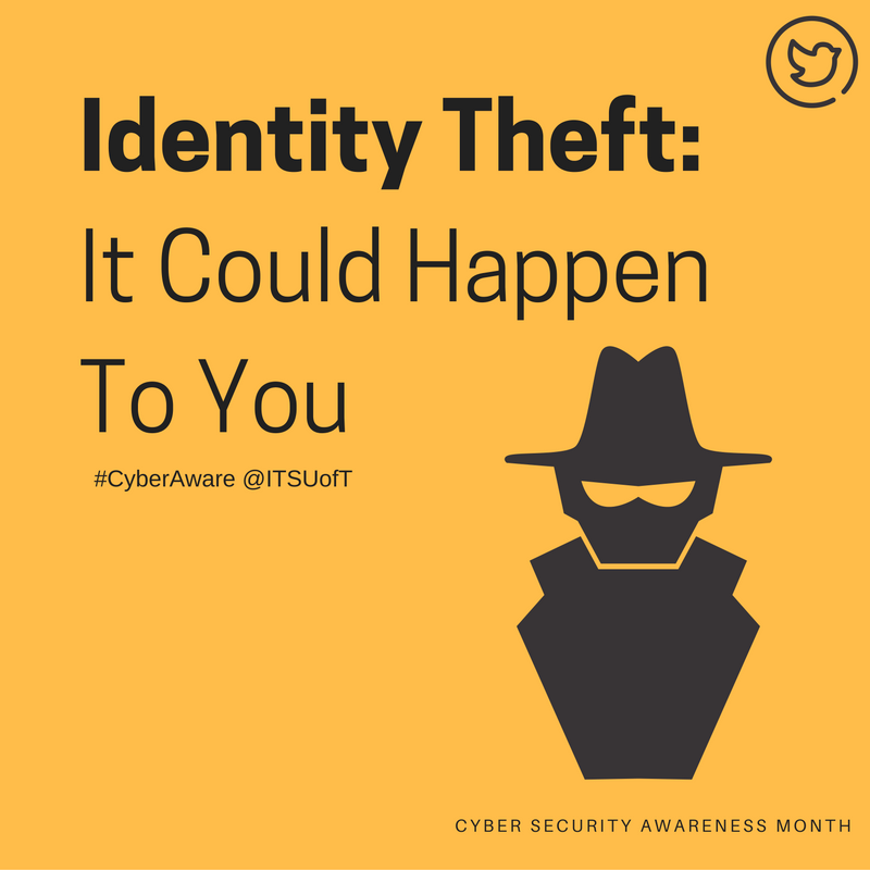 idenitty theft Identity theft occurs when someone uses another person's personal information such as name, social security number, driver's license number, credit card number, or other identifying information to take on that person's identity in order to commit fraud or other crimes.