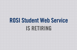 ITS News - ROSI SWS Retiring