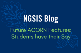 NGSIS Blog: Future ACORN features