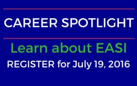 EASI Career Spotlight