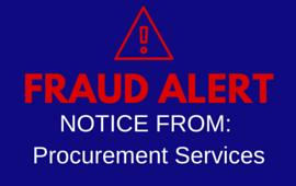 Fraud Alert Procurement Services