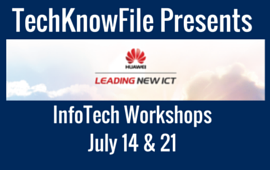 TechKnowFile Presents Huawei
